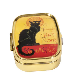 Pillerburk med spegel Chat Noir