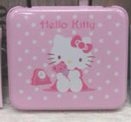 Plåtask Hello Kitty med block
